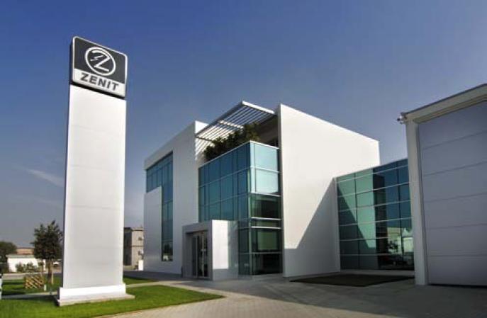 nuova sede di Zenit Italia