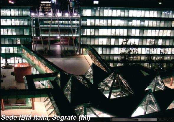 teleimpianti security per la nuova sede IBM Italia