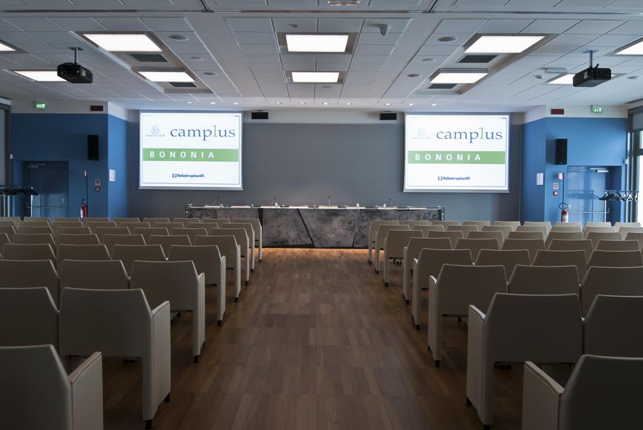 Camplus-Bononia-esterno-notturno-Teleimpianti-sicurezza-building-automation-risparmio-energetico