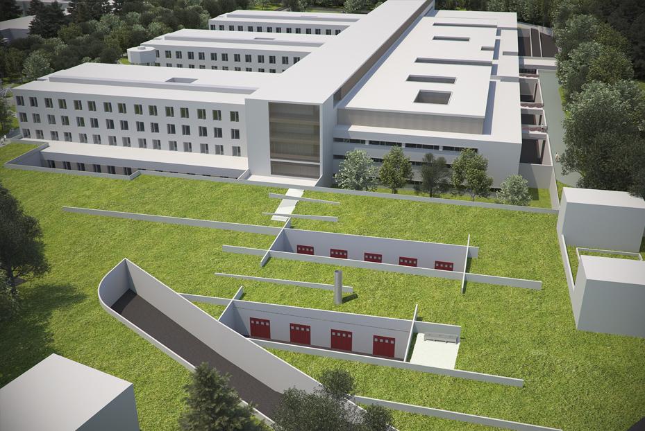 Ospedale salvini-rendering-Teleimpianti-controllo-tecontrollo