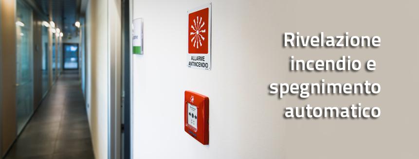 teleinpianti-Rivelazione incendio e spegnimento automatico