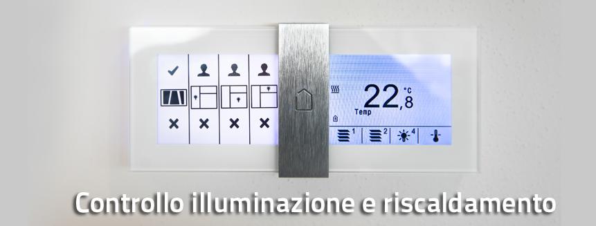 teleinpianti-Controllo illuminazione e riscaldamento