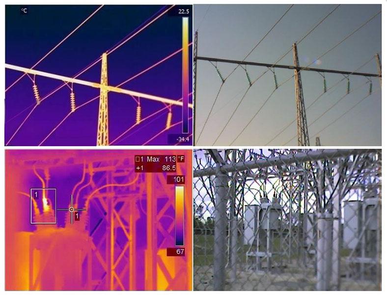 supervisione impianti con telecamere termiche