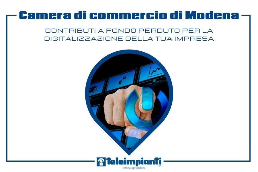 Contributo a fondo perduto per le imprese modenesi che investono nell'innovazione tecnologica per la ripresa post emergenza Covid