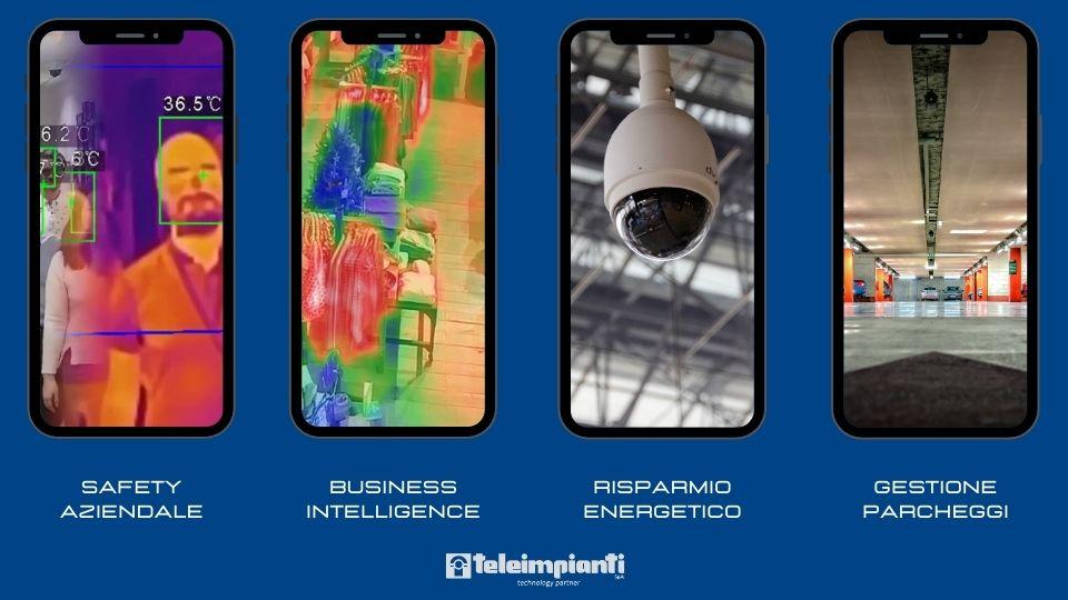 Ambiti di applicazione delle telecamere intelligenti nella building automation