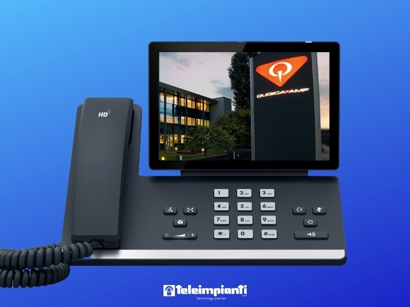 Centralino VoIP integrato con Microsoft Teams per una collaborazione efficiente tra i dipendenti in azienda e fuori
