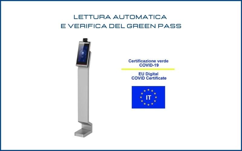 Lettura del Green Pass in azienda